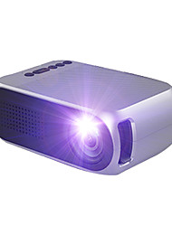 cheap -YG210 LED Mini Portable ProjectorHome Theater Cinema 600 lumen 3.5mm Audio Support 1080p HD Playback HDMI USB Projector Home Media Player