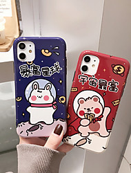 cheap -Apple scene picture iPhone 11 11 Pro 11 Pro max cartoon pattern IMD process TPU material precise hole position mobile phone case