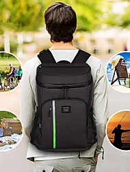 cheap -30L Unisex Insulation Cooler Backpack Travel Picnic Thermal Cooler Bag Men Women Large Capacity Tourit Backpack