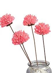 cheap -Artificial Flowers 1 Branch Classic Modern Plants Wall Flower