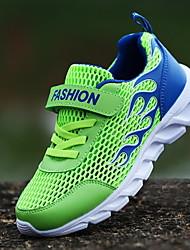 Недорогие -Мальчики Удобная обувь Сетка Спортивная обувь Большие дети (7 лет +) Беговая обувь Белый / Зеленый / Синий Осень