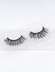 cheap -Eyelash Extensions 1 pcs Best Quality Pro Natural Safety Fiber Date Professioanl Use Full Strip Lashes Natural Long - Makeup Daily Makeup Party Makeup Smokey Makeup Fashion Modern Cosmetic Grooming