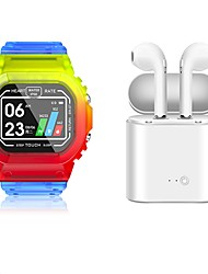 cheap -K16 Smartwatch BT Fitness Tracker Support Notify/Heart Rate Monitor Sport Smartwatch Compatible Samsung/ IOS/ Android Phones