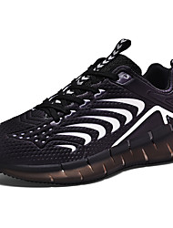cheap -Men's Light Soles Tissage Volant Spring & Summer Sporty Athletic Shoes Running Shoes Breathable Black / White / Green