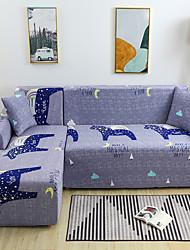 abordables -Housse de canapé extensible étanche à la poussière pour animaux Housse de canapé en tissu super doux avec une taie d'oreiller gratuite