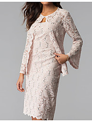cheap -Long Sleeve Coats / Jackets Lace Wedding Women's Wrap With Lace