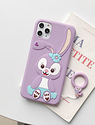 cheap -Case For Apple iPhone 11 / iPhone 11 Pro / iPhone 11 Pro Max Pattern Back Cover Cartoon Silicone