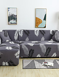 cheap -Plumage Print Dustproof Stretch Slipcovers Stretch Sofa Cover Super Soft Fabric Couch Cover (You will Get 1 Throw Pillow Case as free Gift)