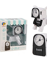 Недорогие -Будильник Аналоговый Оценка А системы ABS  Автоматические часы с ручным заводом 1 pcs