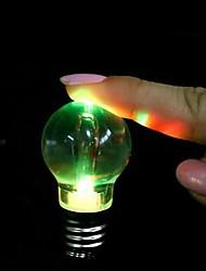 cheap -4pcs Creative Colorful Changing LED Flashlight Light Mini Bulb Lamp Key Chain Ring Keychain Clear Lamp Torch Keyring