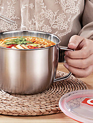cheap -1300ML Stainless Steel Instant Noodle Bowl with Lid Anti-scalding Handle Food Container Rice Soup Dinnerware