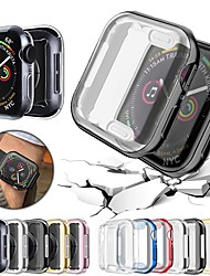 cheap -Cases For Apple iWatch Apple Watch Series 7 / SE / 6/5/4/3/2/1 / Apple Watch Series 5 / Apple Watch Series 4 TPU Screen Protector Smart Watch Case Compatibility One size