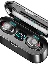 Недорогие -litbest f9 tws правда беспроводные наушники беспроводные наушники Bluetooth 5.0 с шумоподавлением стерео с зарядкой