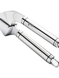 cheap -Garlic Press Thick and Durable Manual Garlic Peeler Household Garlic Masher Kitchen Gadgets