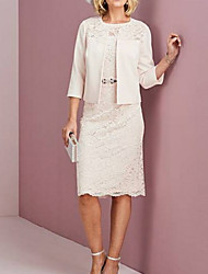 cheap -3/4 Length Sleeve Shrugs Lace / Satin Wedding Women's Wrap With Lace / Appliques