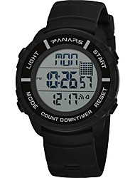 cheap -SYNOKE Digital Watch Digital Sporty Stylish Outdoor Water Resistant / Waterproof Digital Black Blue Green / Calendar / date / day / LCD / Noctilucent / Large Dial