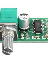 abordables -pam8403 carte de module d'amplificateur audio de puissance USB 2 canaux 3wx2 contrôle du volume