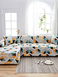cheap -Sofa Cover Geometric Couch Cover Strech Slipcover Furniture Protector Dustproof Slipcovers Fit for Armchair/ Loveseat/ Three Seater/ Four Seater/ L Shape Sofa Easy to Install Beathable Thinck Durable