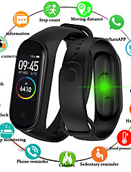 cheap -Smartwatch Digital Digital Luxury Water Resistant / Waterproof Bluetooth Smart / Silicone