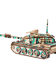 cheap -Toy Car 3D Puzzle Paper Model Tank Chariot Hard Card Paper Kid's Unisex Boys' Toy Gift