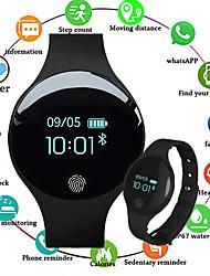 Недорогие -Смарт Часы Цифровой силиконовый Защита от влаги Bluetooth Smart Цифровой Роскошь Мода - Черный Оранжевый Зеленый