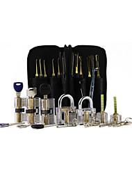 cheap -Unlocking Tool Set - Transparent 7-Piece Transparent Lock  24-Piece Single Hook