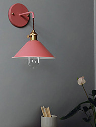 cheap -Nordic modern simple living room stairway lamp creative personality bedroom bedside lamp makalon industrial wind wall lamp