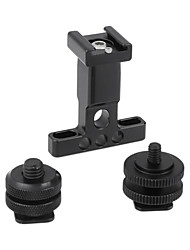 cheap -CAMVATE Support Holder With Detachable Shoe Mount  1/4 & 3/8 Male Thread Mounting Points & Lock Nuts C2479
