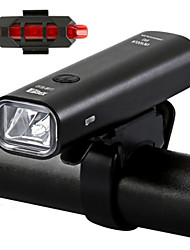 cheap -LED Bike Light Front Bike Light Safety Light LED Bicycle Cycling USB Charging Output Quick Release Durable Lithium Battery 360 lm Rechargeble Battery Built-in power supply White Everyday Use Cycling
