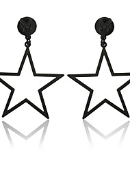 cheap -Women's Earrings Classic Mini Earrings Jewelry Black / Rose Gold / Gold For Christmas Party Anniversary Carnival Festival 1 Pair