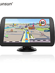 cheap -Junsun A9.BT 9 inch HD Car GPS Navigation FM Bluetooth AVIN Navitel 2019 latest Europe Map Sat nav Truck gps navigators automobile