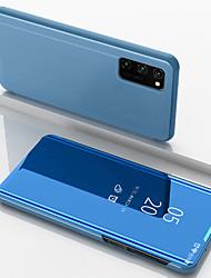 Недорогие -чехол для huawei nova 6 / nova 6se зеркало с четким обзором подставка для телефона чехол для huawei honor v30 / v30 pro