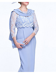 cheap -3/4 Length Sleeve Basic Lace Wedding Women's Wrap With Lace