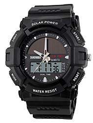 cheap -Men's Sport Watch Japanese Digital Black / Green 50 m Water Resistant / Waterproof New Design Alarm Clock Analog - Digital Outdoor New Arrival - Black Black / Blue Black / Red Two Years Battery Life