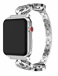 Недорогие -ремешок для часов для серии Apple Watch 5/4/3/2/1 дизайн ювелирных изделий Apple из нержавеющей стали ремешок на запястье