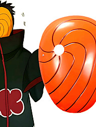 cheap -Mask Inspired by Naruto Akatsuki Anime Cosplay Accessories Mask PVC(PolyVinyl Chloride) Men's Hot Halloween Costumes