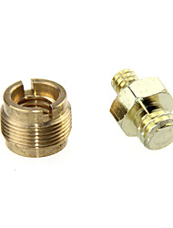 cheap -CAMVATE DSLR Brass Screw Adapter 1/4 to 3/8 to 5/8 for Microphone Stand Camera Cage C1059