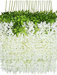 Недорогие -искусственные глицинии цветок на стене свадебные арки украшения цветок свадебные потолочные украшения 1 упаковка