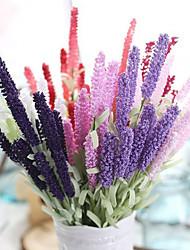 cheap -Artificial Flower 12 Head Provence Lavender Plant Home Decoration Photography 1 Stick