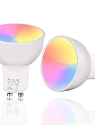 abordables -populaire wifi lampe tasse intelligente lampe tasse gradation lampe tasse wifi ampoule rgbw gradation intelligente lampe