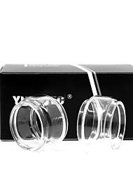 abordables -yuhetec gros tube de verre pour aspire cleito pro atomiseur 2pcs