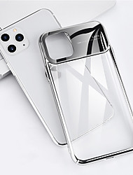cheap -Mobile Phone Case for iPhone 11Pro Max High-grade Transparent Ultra-thin Mobile Phone Case XS Max All-inclusive Galvanized Glass 7 / 8Plus Protective Cover
