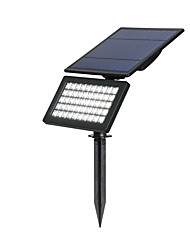 cheap -BRELONG Solar 50LEDs Lawn Light Home Patio Wall Lamp Spot Light Outdoor Waterproof