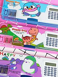 cheap -Pencil Cases Plastic 1 pcs Creative Kid's