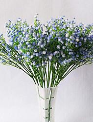 abordables -artificielle bébé souffle gypsophile fleur mariage décoration cadeau