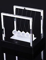 cheap -Newtons Cradle LED Light Up Kinetic Energy Home Office Science Toys Home Decor educational toys 2019 New