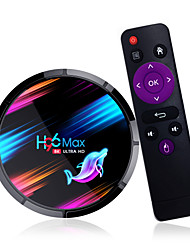 cheap -H96 MAX X3 Android 9.0 TV Box 4GB 128GB 64GB 32GB Amlogic S905X3 Quad core Wifi 8K Youtube Google store H96MAX Media Set top box