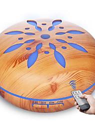 Недорогие -550 мл ультразвуковой распылитель тумана производитель ароматерапевтический диффузор с дистанционным управлением светодиодный свет для дома эфирное масло увлажнитель воздуха