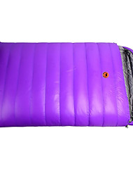 cheap -Sleeping Bag Outdoor Camping Double Wide Bag Envelope / Rectangular Bag 20 °C Double Size Duck Down Windproof Warm Quick Dry Autumn / Fall Winter for Camping / Hiking Camping / Hiking / Caving