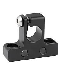 Недорогие -Camvate простой 15-миллиметровый одностержневой зажим с 1 / 4-20 точками крепления без резьбы c2318